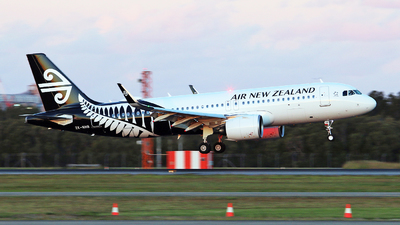 ZK-NHB - Airbus A320-271N - Air New Zealand