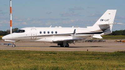OM-LAT - Cessna Citation Latitude - Private