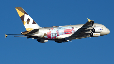 A picture of A6APC - Airbus A380861 - Etihad Airways - © Jerome Chauvin