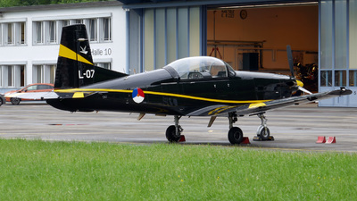 L-07 - Pilatus PC-7 - Netherlands - Royal Air Force