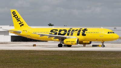A picture of N697NK - Airbus A320232 - Spirit Airlines - © Mark Lawrence