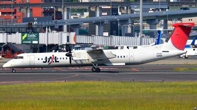 JA848C - Bombardier Dash 8-Q402 - Japan Air Commuter (JAC)