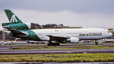 N907WA - McDonnell Douglas DC-10-10 - Mexicana