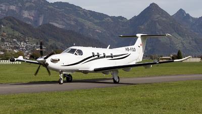 HB-FSO - Pilatus PC-12 NGX - Private