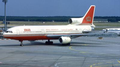 JY-AGH - Lockheed L-1011-500 Tristar - Alia - The Royal Jordanian Airline