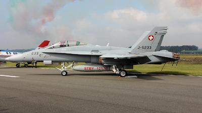 J-5233 - McDonnell Douglas F/A-18D Hornet - Switzerland - Air Force