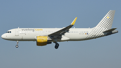 A picture of ECLZN - Airbus A320214 - Vueling - © Pau Guerrero