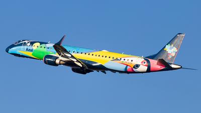 A picture of PRAXH - Embraer E195AR - Azul Linhas Aereas - © Leandro Luiz Pilch