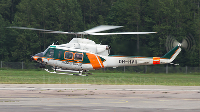 OH-HVH - Agusta-Bell AB-412 - Finland - Frontier Guard