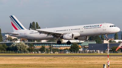 F-GMZD - Airbus A321-111 - Air France