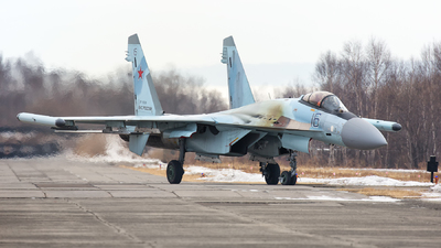 RF-95008 - Sukhoi Su-35S - Russia - Air Force