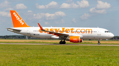 G-EZWP - Airbus A320-214 - easyJet
