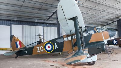 F-AZCA - De Havilland DH-89A Dragon Rapide - Private