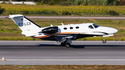 A picture of ECLCX - Cessna 510 Citation Mustang - Heron Luftfahrt - © Carlos Miguel Seabra