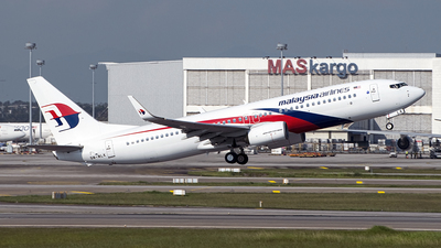 9M-MLK - Boeing 737-8FZ - Malaysia Airlines