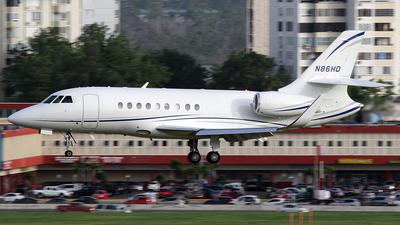 N86HD - Dassault Falcon 2000EX - Private