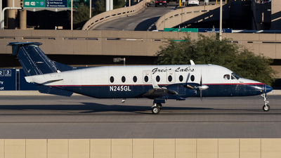 A picture of N245GL - Beech 1900D - Great Lakes Aviation - © Jan H