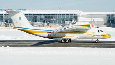 01 - Antonov An-74 - Ukraine - Air Force