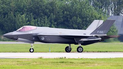 F-012 - Lockheed Martin F-35A Lightning II - Netherlands - Royal Air Force