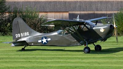 N121MC - Stinson L-5 Sentinel - CAF Swiss Wings