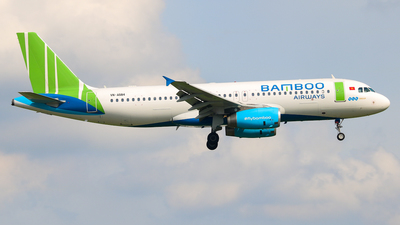 VN-A584 - Airbus A320-232 - Bamboo Airways