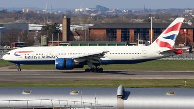 A picture of GVIIF - Boeing 777236(ER) - British Airways - © subing27