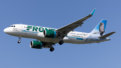 N386FR - Airbus A320-251N - Frontier Airlines