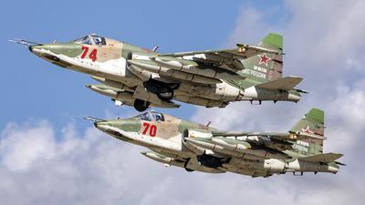 RF-95159 - Sukhoi Su-25BM Frogfoot - Russia - Air Force