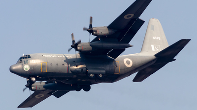 4148 - Lockheed C-130E Hercules - Pakistan - Air Force
