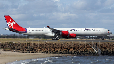 G-VMEG - Airbus A340-642 - Virgin Atlantic Airways