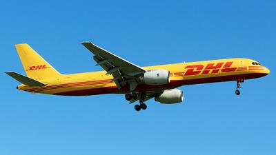 A picture of GBIKF - Boeing 757236(SF) - DHL - © Robert Dumitrescu