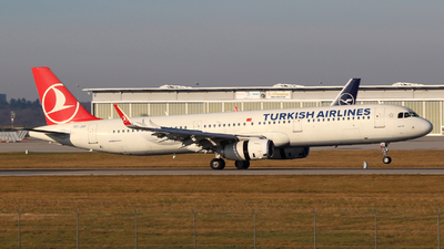 A picture of TCJSF - Airbus A321231 - Turkish Airlines - © Justin Stöckel
