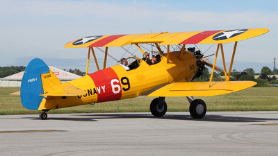 N26M - Boeing A75N1 Stearman - Private