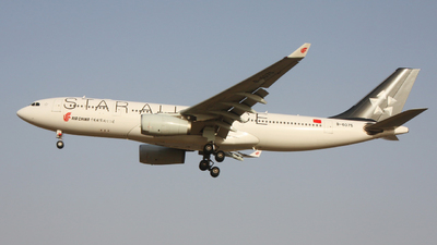 A picture of B6075 - Airbus A330243 - Air China - © ZIXUAN MA