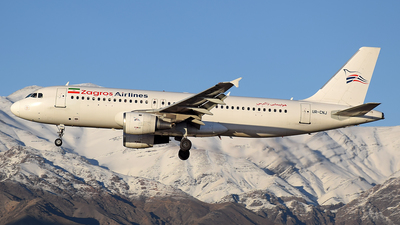 UR-CNJ - Airbus A320-211 - Zagros Airlines