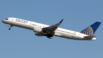 N502UA - Boeing 757-222 - United Airlines