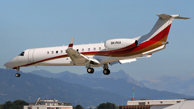 9K-PAA - Embraer ERJ-135BJ Legacy - Private