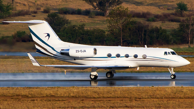 ZS-DJA - Gulfstream G-IIB - Swift Flight