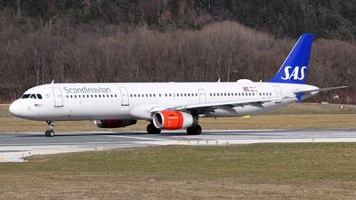 A picture of OYKBL - Airbus A321232 - SAS - © Lorenz Kafenda