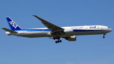 A picture of JA784A - Boeing 777381(ER) - All Nippon Airways - © Eddie Heisterkamp