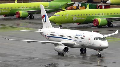 A picture of RA89119 - Sukhoi Superjet 10095B - Severstal Aircompany - © Andrey Tchursin