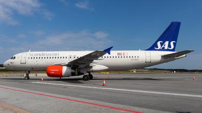 A picture of OYKAT - Airbus A320232 - SAS - © Wilhelm Adolfsson