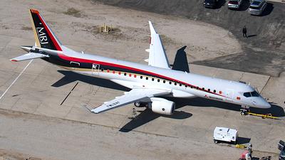 A picture of JA21MJ - Mitsubishi MRJ90STD - [10001] - © Robert Lachowitz