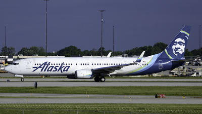 A picture of N263AK - Boeing 737990(ER) - Alaska Airlines - © Friedchickenaviation