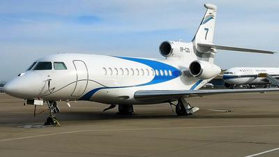 VP-CZS - Dassault Falcon 7X - Business Aviation Asia