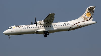 XY-AMK - ATR 72-212A(600) - Myanmar National Airlines