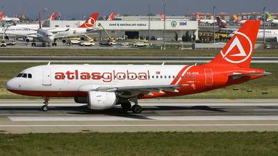 TC-ATD - Airbus A319-112 - AtlasGlobal