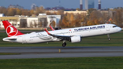 A picture of TCLTA - Airbus A321271NX - Turkish Airlines - © Luba Ostrovskaya