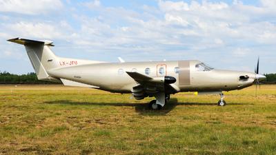 LX-JFU - Pilatus PC-12/47E - Jetfly Aviation