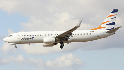 OM-IEX - Boeing 737-8BK - SmartWings (Air Explore)
